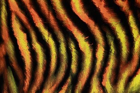 mottle: Cotton Tigers background
