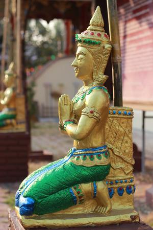 saraswati: Statue of goddess worship