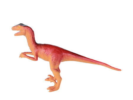dominant: Dinosaur on a white background