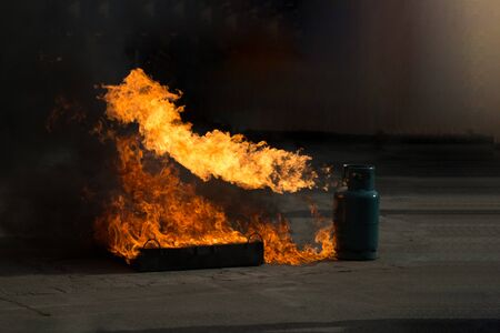 The wood-burning fires can be taken as fuel, causing hazards.