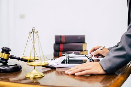 Legal Advisors provide business tax advice to clients.