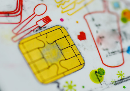 net book: Card convenience store Stock Photo
