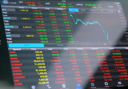 stock: Financial data- stock exchange