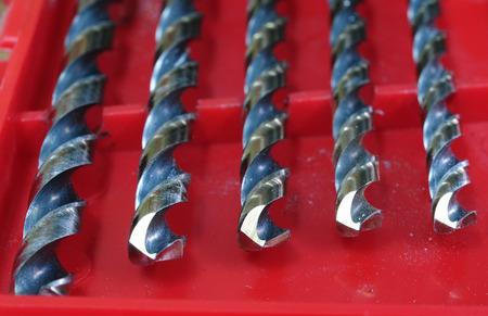 machine tool: set Drill in box