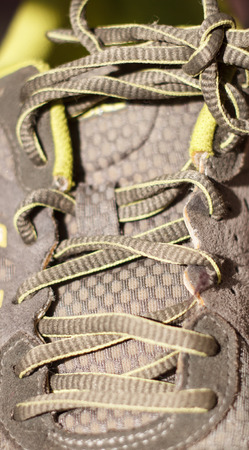 shoelace: Shoelace closeup