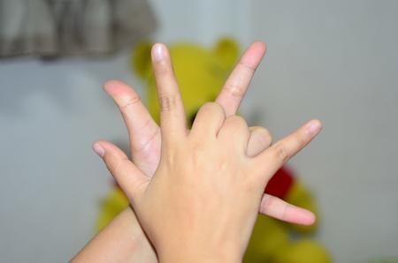 coordination: Coordination finger