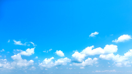 Blue sky with clouds background. landscape natural with cloud. copyspace.
