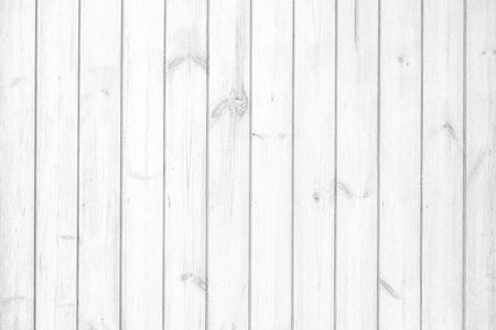 White and grey wood plank texture and wallpaper. Abstract wooden background.