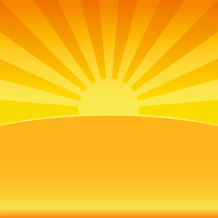 Sunlight illustration background