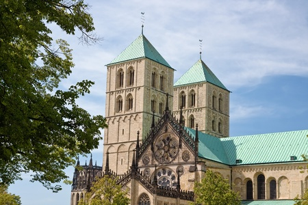 the famous cathedral st. paulus in Germany.