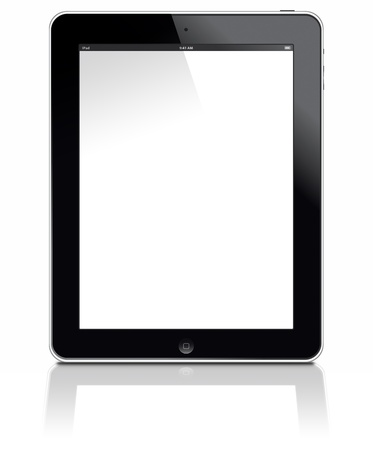 Muenster, Germany - March 12, 2012: Picture shows the Apple ipad 3 with 3G+Wifi digital tablet computer with multi touch screen.