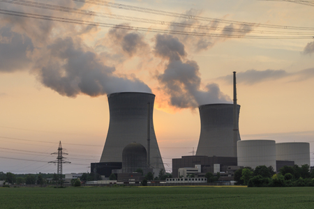 npp: nuclear Power Plant Stock Photo