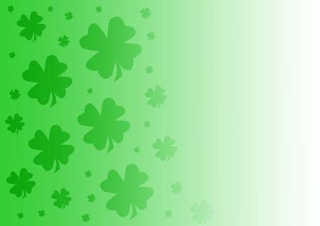 quarterfoil: Green and White gradient background with Quarterfoils