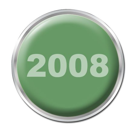 a green button starting the year 2008