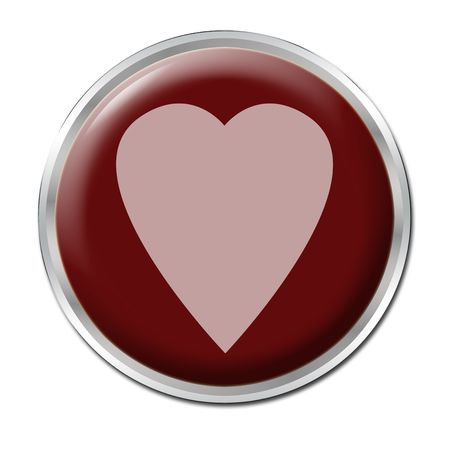 liking: red button with the red heart on it