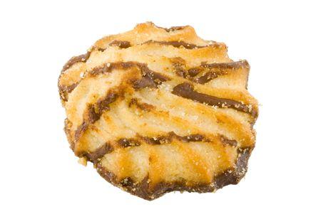 teacake: a sweet tasty teacake on the white background Stock Photo