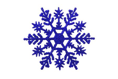 a christmas ornament - seasonal decoration - isolated - close up