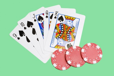 consecutive: straight flush - five consecutive cards of the same suit