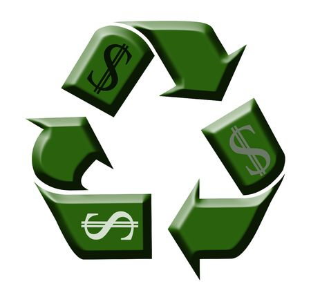 recycling money in the day of economic crisis