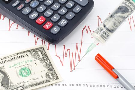 a possible way to cure the current economic recession Stock Photo - 4772556