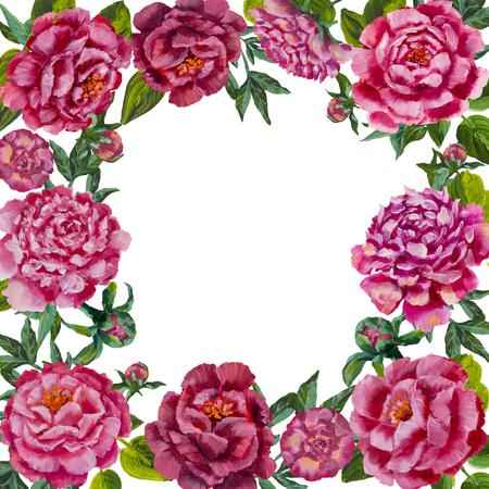 Round oil painting pink flower peonies roses frame background round oil painting pink flower peonies roses frame background round flower wreath pink mightylinksfo