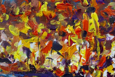night city abstract painting Foto de archivo - 107574215