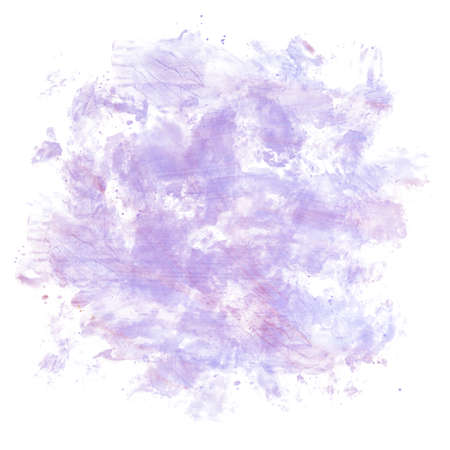 Beautiful watercolor background isolated on white. Digital Watercolor