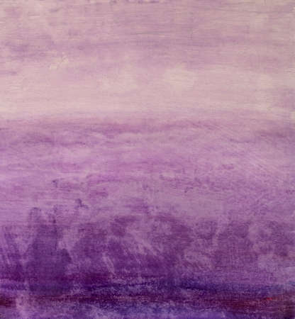 Beautiful handmade purple gradient oil painting watercolor on canvas for background