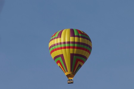 Santa Rosa, California is the largest city in Californias Redwood Empire, Wine Country and the North Bay - air balloon.