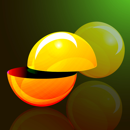 sphere: sphere, colorful