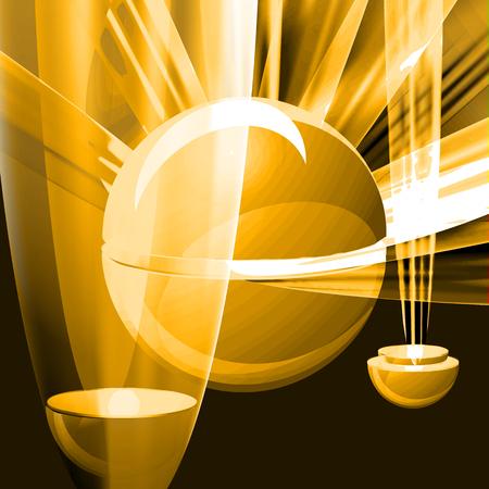 sphere: sphere, colorfu