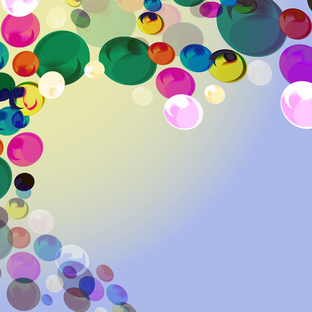 colored: abstract, balls, colored, balls