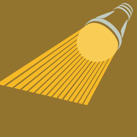 led lamp: led, lamp, light, bulb, history, vector, illustration