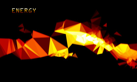ardent: Abstract ardent background. Vector Illustration