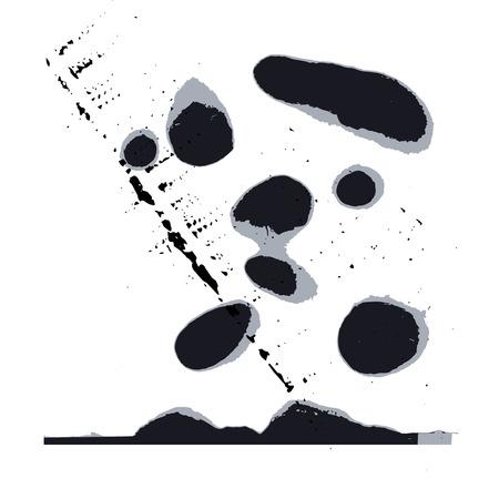 interesting blots set Imagens