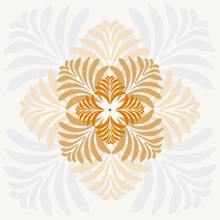 Background of stylized abstract leaves for greeting cards Imagens