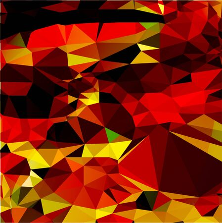 abstract background with rectangles in warm colors Imagens