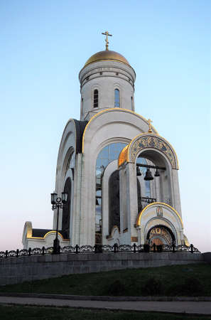 Temple of St. George the Victorious, Moscow, Russia