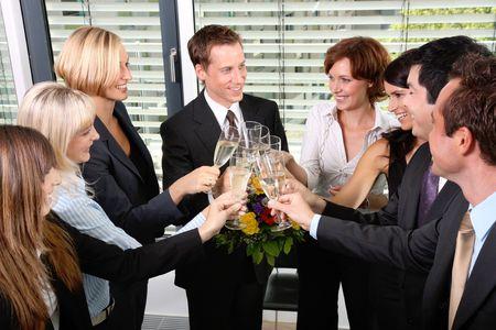 company employee: Success
