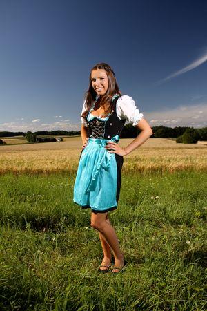 Bavarian Catwalk  Standard-Bild