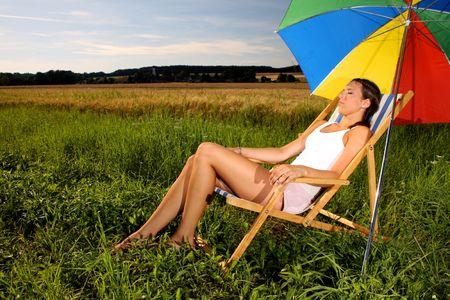 Summer holiday Standard-Bild