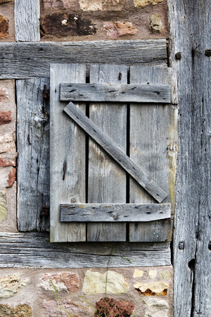 An Old Wooden Rustic Vintage Barn Door Stock Photo Picture And