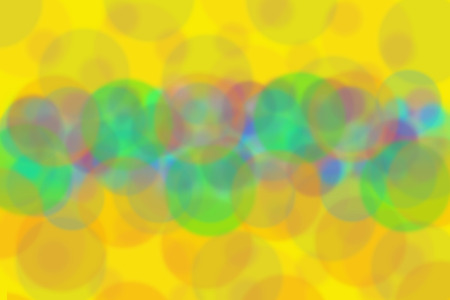 Circles on soft beautiful yellow tone color background