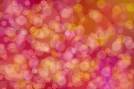 Circles on soft beautiful red and pink tone color background