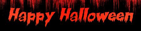 the words Happy Halloween written on bloody background Reklamní fotografie - 116248195