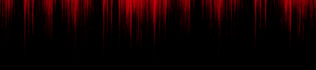 red blood dripping down a black wall Stock Photo
