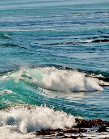 atlantic: Seascape with Atlantic wave in bright sunlight