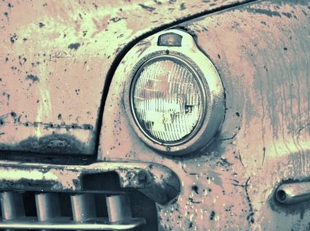 oxidado: Cierre de veterano viejo y oxidado Foto de archivo