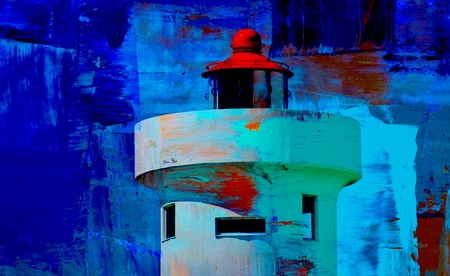 woodbridge: Landscape with Woodbridge Island Lighthouse in Milnerton