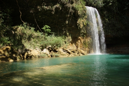pflanzen: Waterfall Socoa, Dominican Republic